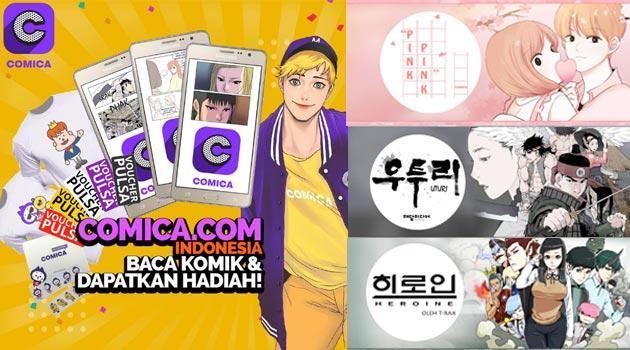 Comica, Aplikasi baca komik dari Korea hadir di Indonesia