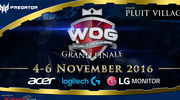 World Of Gaming Grand Finale : VainGlory Tournament at Pluit Village