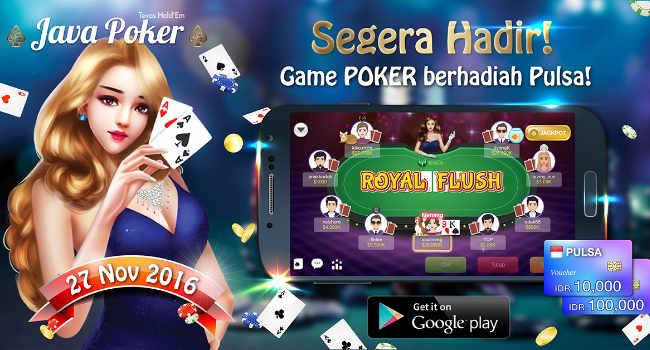 Java Poker Texas , Game Kartu Terbaru Hadir di Indonesia
