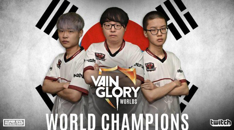 Phoenix Armada, Juara Dunia Pertama Vainglory dari Korea