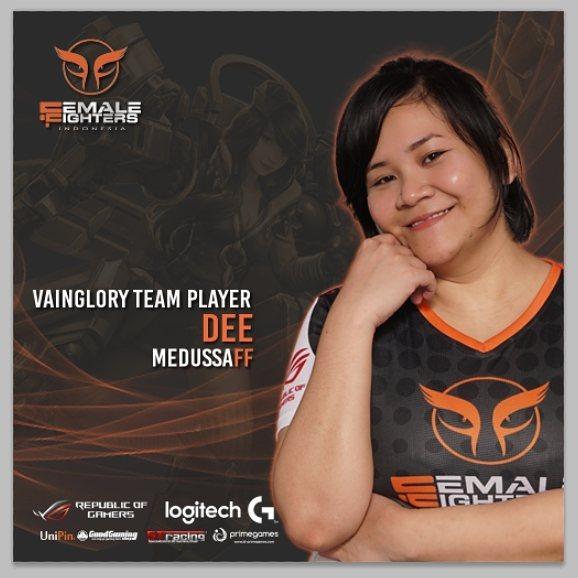 Mengenal FemaleFighterXYG, VainGlory Ladies Team Indonesia