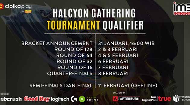 Update terbaru Jadwal Vainglory #Halcyongathering 2.0 Online Qualifier