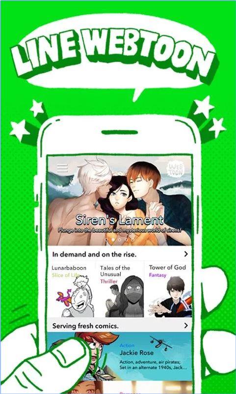 Bosan? Line Webtoon aja, Aplikasi Penyedia Komik Online di Hapemu