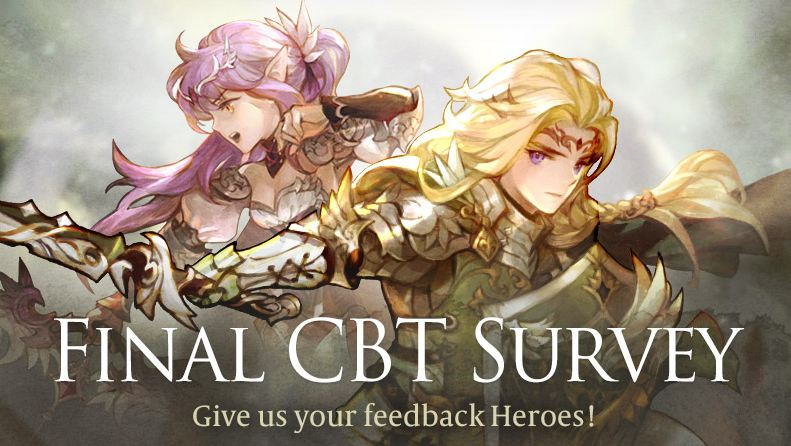 CBT War of Crown telah berakhir, Ayo berikan support lewat Survey