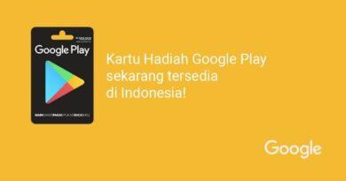 Google Play Gift Card Kini hadir di Indonesia secara resmi, Ini panduan redeemnya