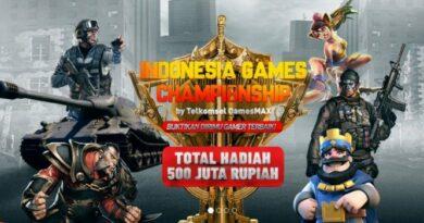 Indonesia Games Championship, Ajang Kompetisi Gamers Terbesar di Indonesia dari Telkomsel