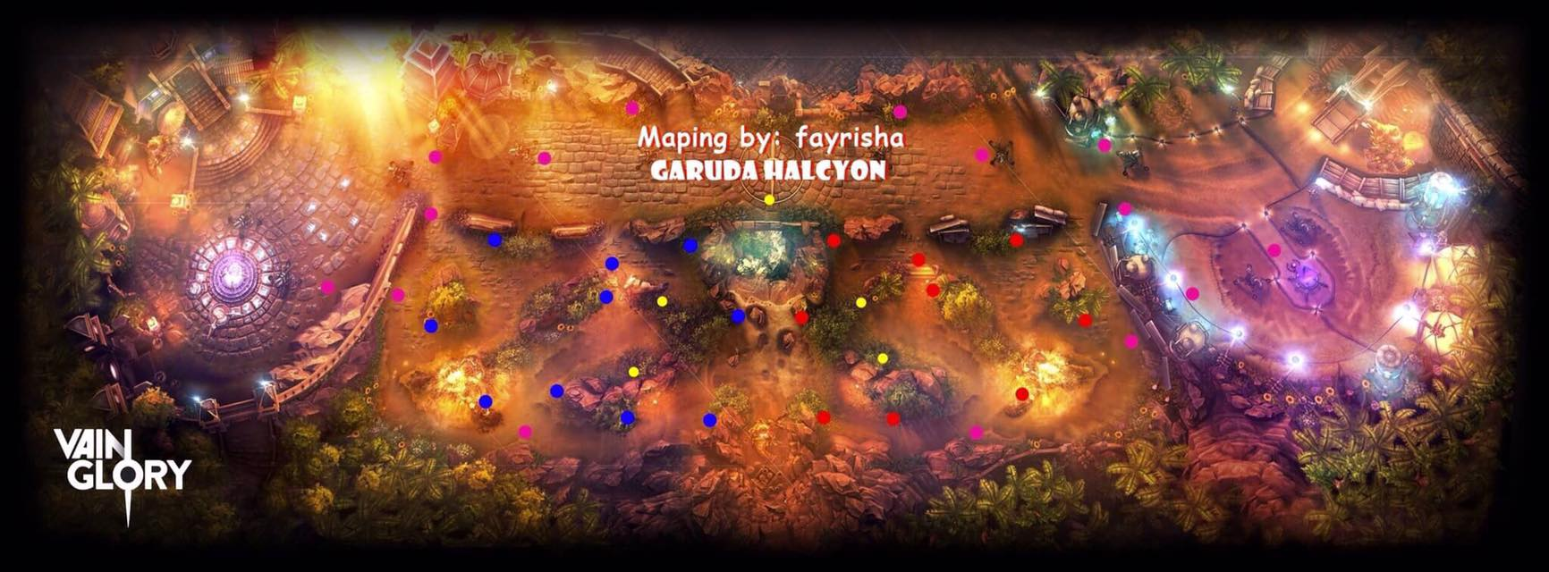 Tips Posisional Maping For Roamer dari Garuda Halcyon