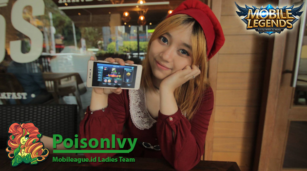 Mobileague.ID mengumumkan eSports Ladies Team divisi mobile legend bernama PoisonIvy