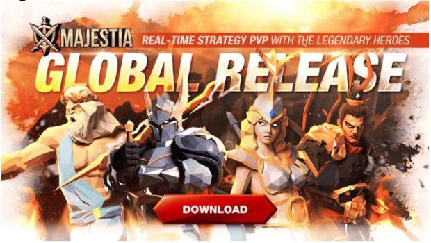 Game Baru Com2uS, Majestia, Diluncurkan Secara Global di 150 Negara Sekaligus