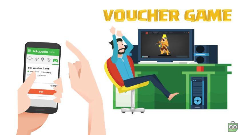 Beli Voucher Game Dari Aplikasi Tokopedia di Hape mu Berhadiah Arcana Tanpa Diundi