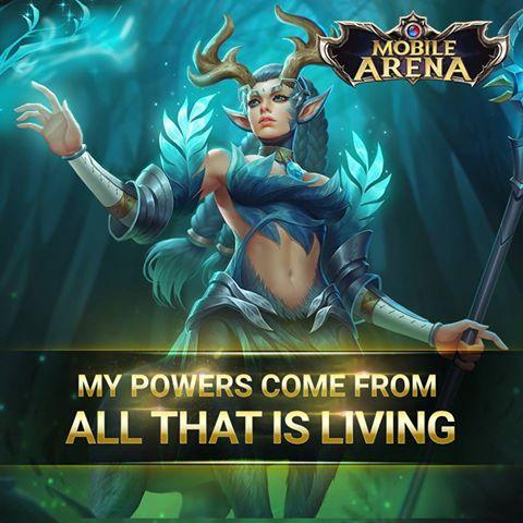 Mobile Arena Hero Spotlight : Payna Sang Faerie Guardians