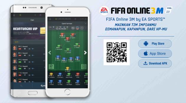 Mainkan FIFA Online 3 Mobile Indonesia Kapanpun, Dimanapun!