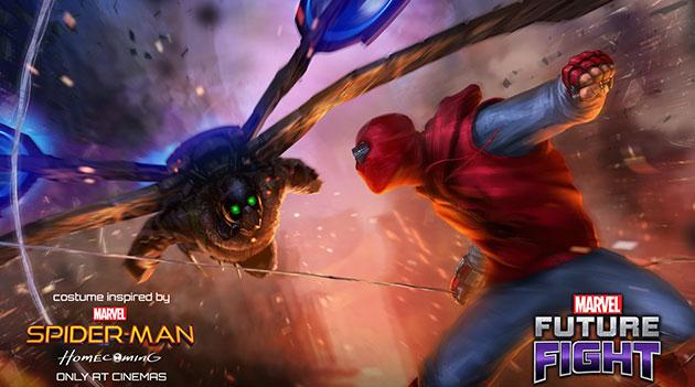 Spider-Man Kehadiran 5 Villain Terbaru pada Update Marvel Future Fight.