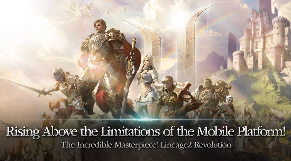 Lineage 2 Revolution Update Major Patch Pertama Kalinya