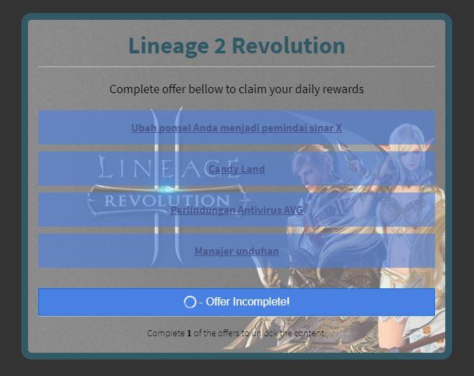 Lineage 2 Revolution Semakin Populer, Website Phishing Mengincar ID Anda