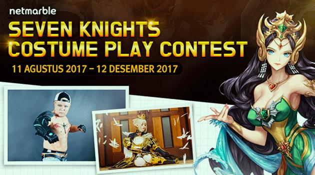 Kompetisi Cosplay Yang Kedua dari Netmarble Berhadiah Puluhan Juta!