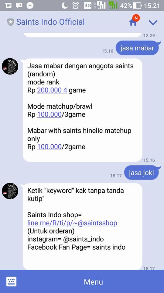 """Mau Selfie Bareng di """"Lord"""" Atau Konsultasi Mobile Legends? Saints Indo Siap Membantu"""