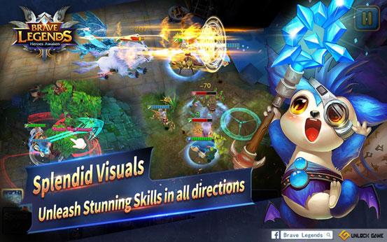Brave Legends : Heroes Awaken, 3D ARPG yang super Hot Siap Rilis