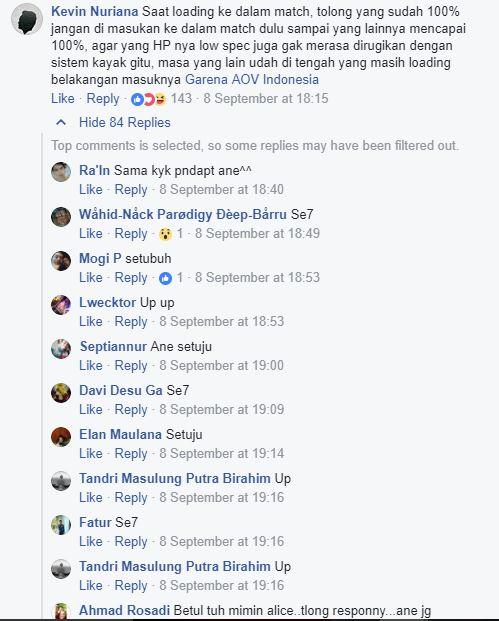 Buka Survey, AOV Kebanjiran Feedback yang bikin netizen angkat jempol