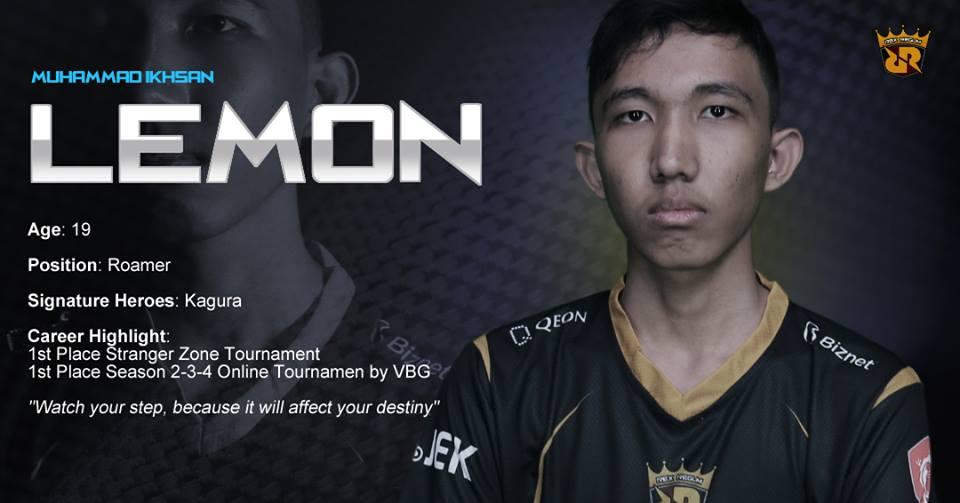 Battle Emote RRQ Lemon di Mobile Legends