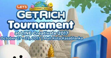 LINE X INDOMOG Gelar Turnamen Let's Get Rich di Mall Kota Kasablanka