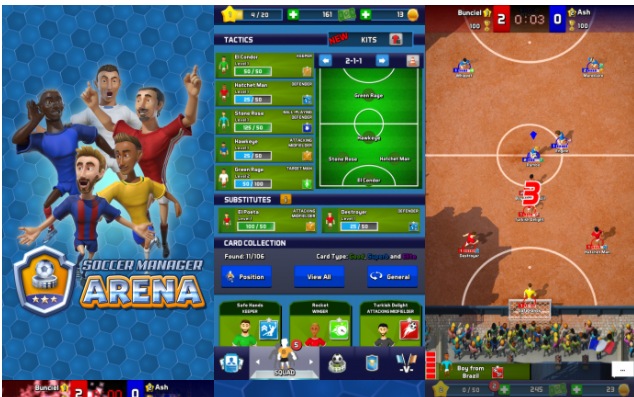 Soccer Manager Arena SEA Sponsori NITRO Cup, Main Bareng Rochy Putiray & Evan Dimas