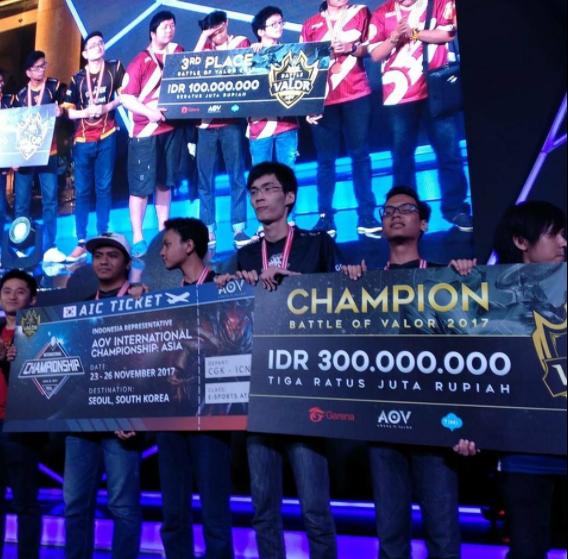 EVOS.AOV Sang Jawara BOV Indonesia Melaju Untuk 7M