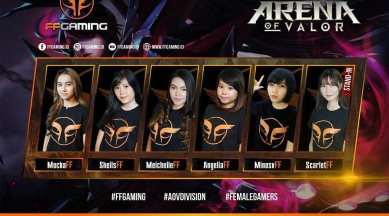 Terjun ke Ranah Mobile Moba, Female Fighters Gaming Umumkan Roster untuk AoV