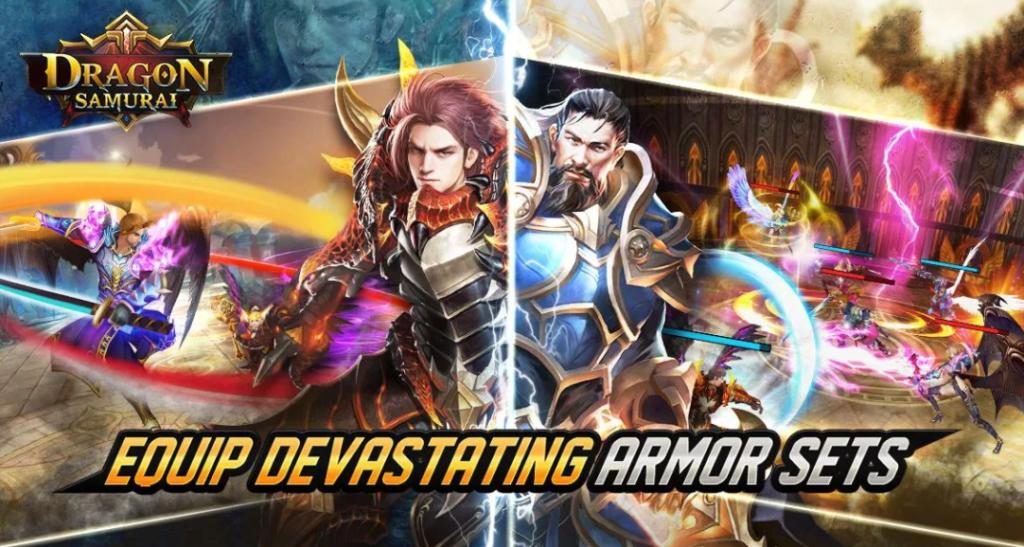 Main Dragon Samurai Yuk, Game Hack n Slay dari Finger Motion