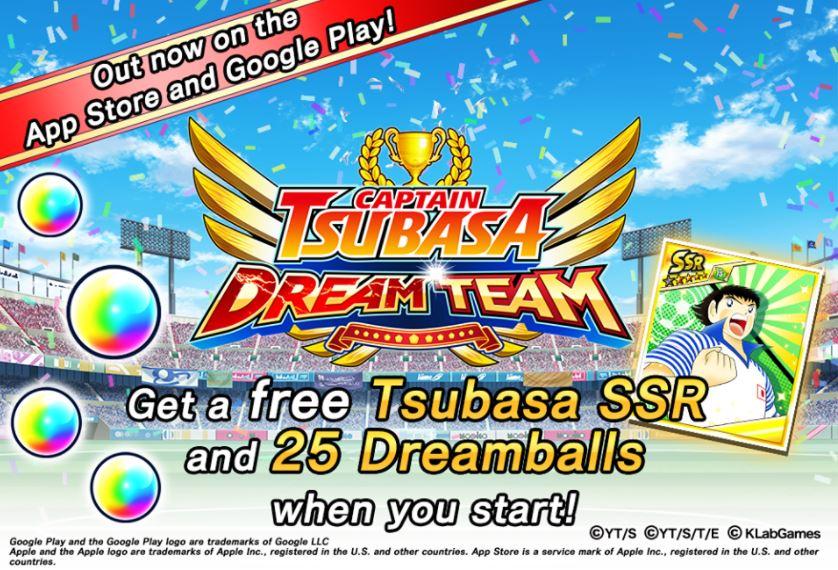 Game Kapten Tsubasa, karena Bola Adalah teman, Download Sekarang