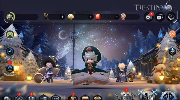 Update Besar-Besaran Mobile RPG Destiny6, Hadirkan Guild Conquest