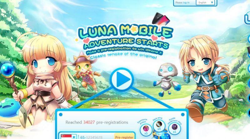 Preregister Luna Online Mobile bisa bawa pulang Iphone X gan