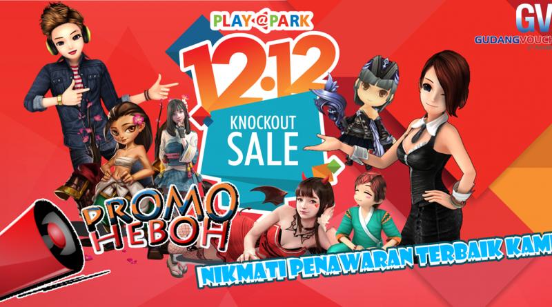 Playpark Harbolnas 12.12 – Knockout Sale Untung Banyak akhir Tahun