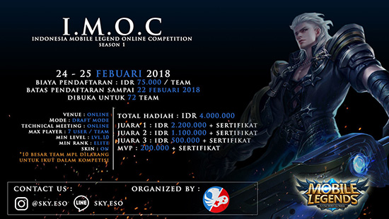 Turnamen Mobile Legends - IMOC SEASON 1