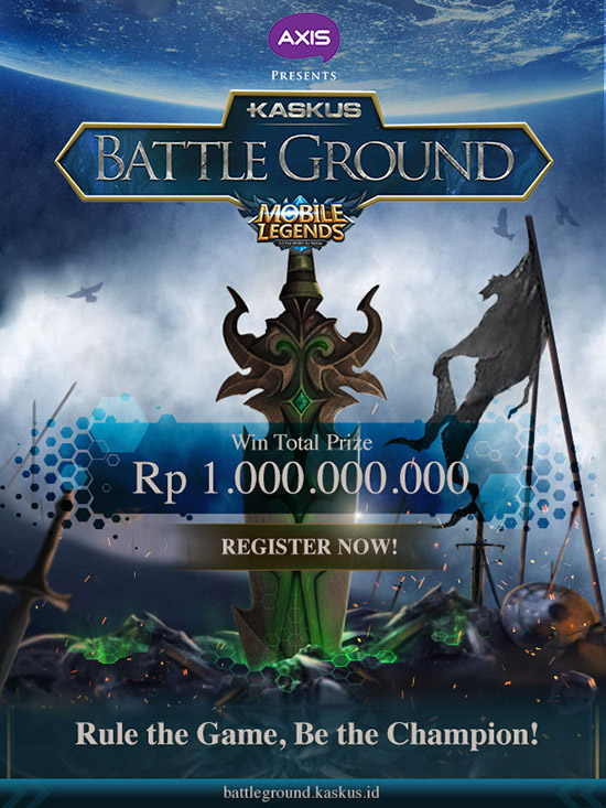 Turnamen Mobile Legends - KASKUS Battleground
