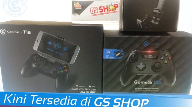 Main Mobile Legends pakai Gamepad GameSir? Beli aja di Via GSShop!