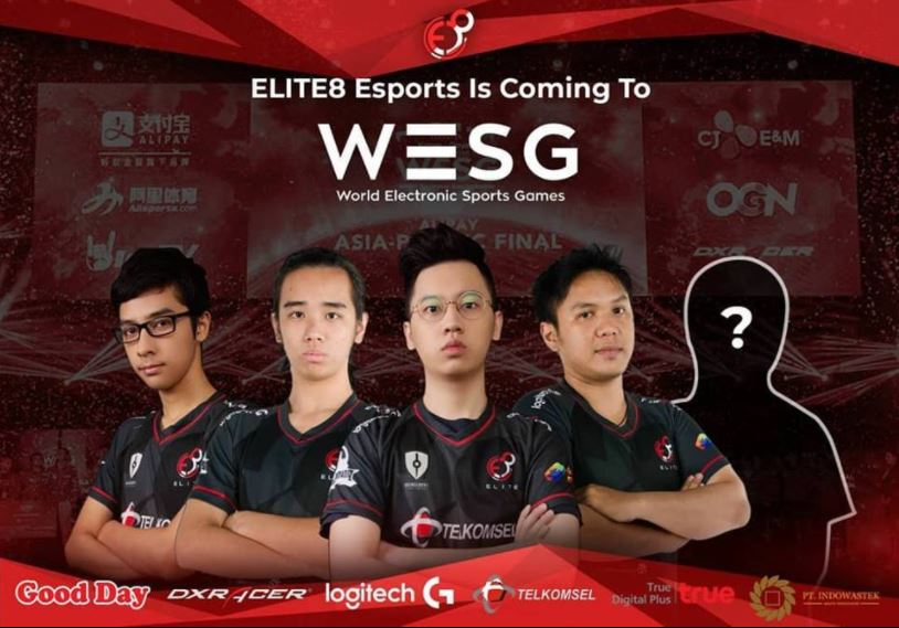 Tim Elite8 Indonesia akan bertanding di grand finals Vainglory 5V5 WESG 2017