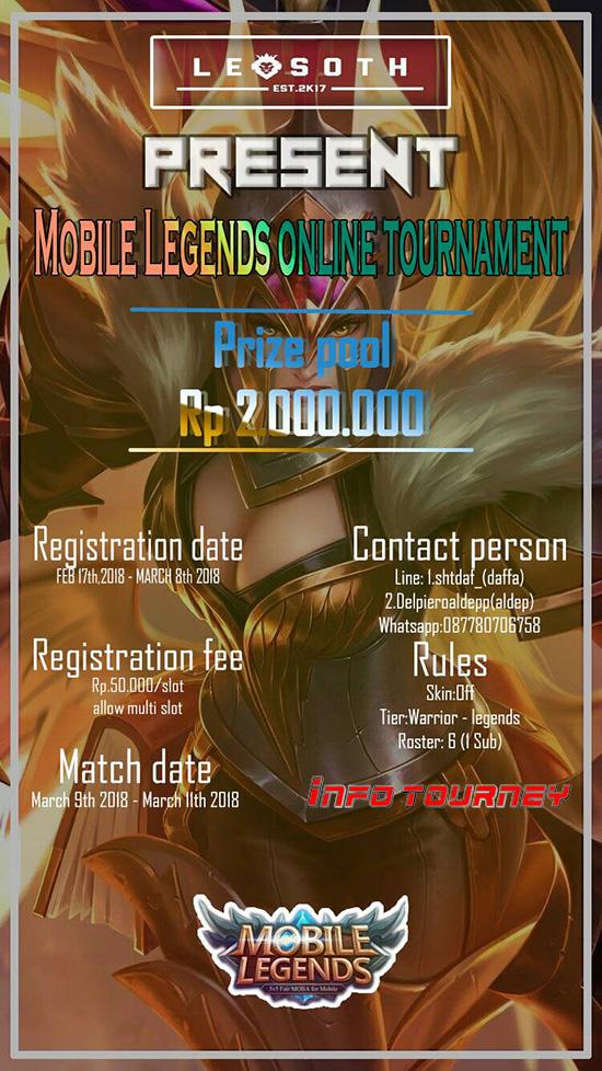 Turnamen Mobile Legends - LEOSOTH SEASON 1