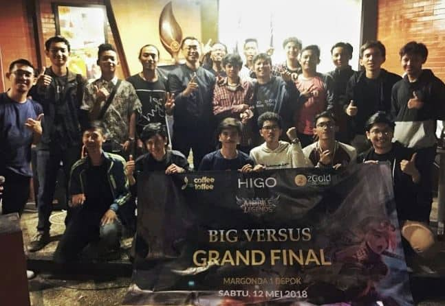 Coffee Toffee Gandeng HIGO SPOT adakan MOBILE LEGENDS BIG VERSUS