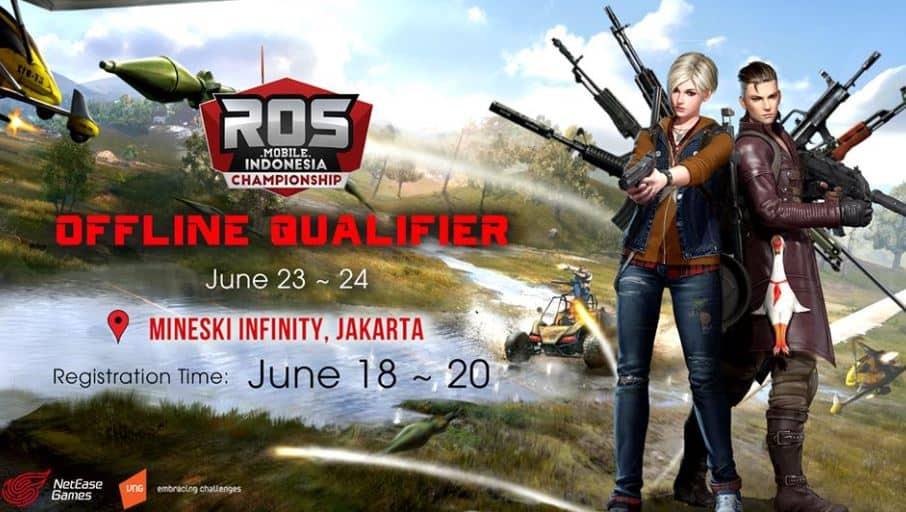 Ayo Ikutan Rules of Survival Offline Qualifier di Jakarta