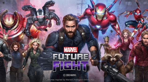 MARVEL FUTURE FIGHT HADIRKAN UPDATE KEDUA INFINITY WAR