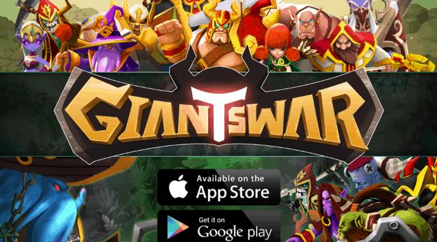 Giants War sudah hadir di seluruh dunia! RPG terbaru dari GAMEVIL dan Singta!!