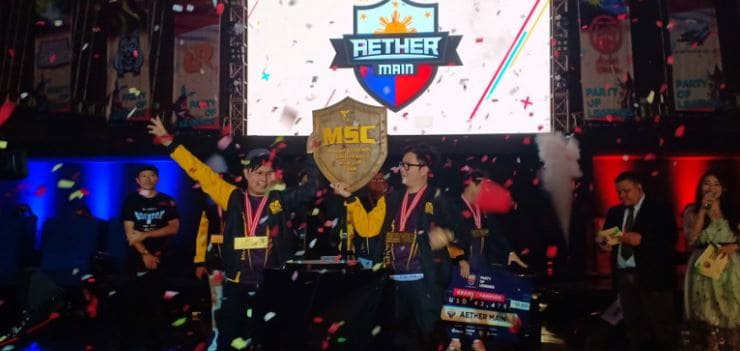 aether main winner msc 2018