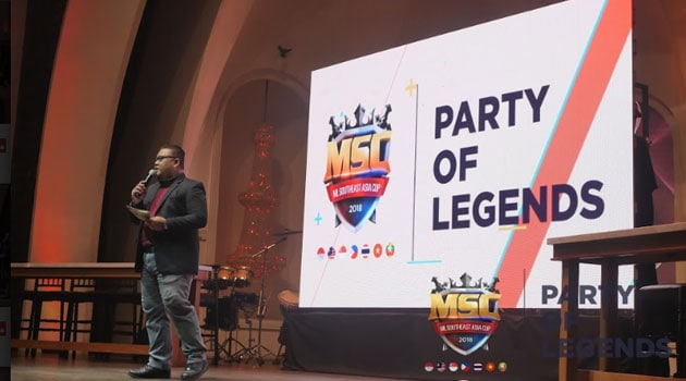 Ini dia Keseruan MSC 2018 Party Of Legends Press Conference