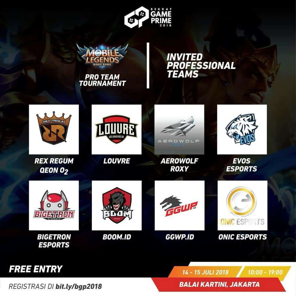 RRQ Kalahkan AEROWOLF di Final GAME PRIME MOBILE LEGENDS INVITATION