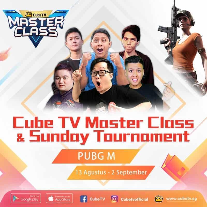 Masterclass Cube TV