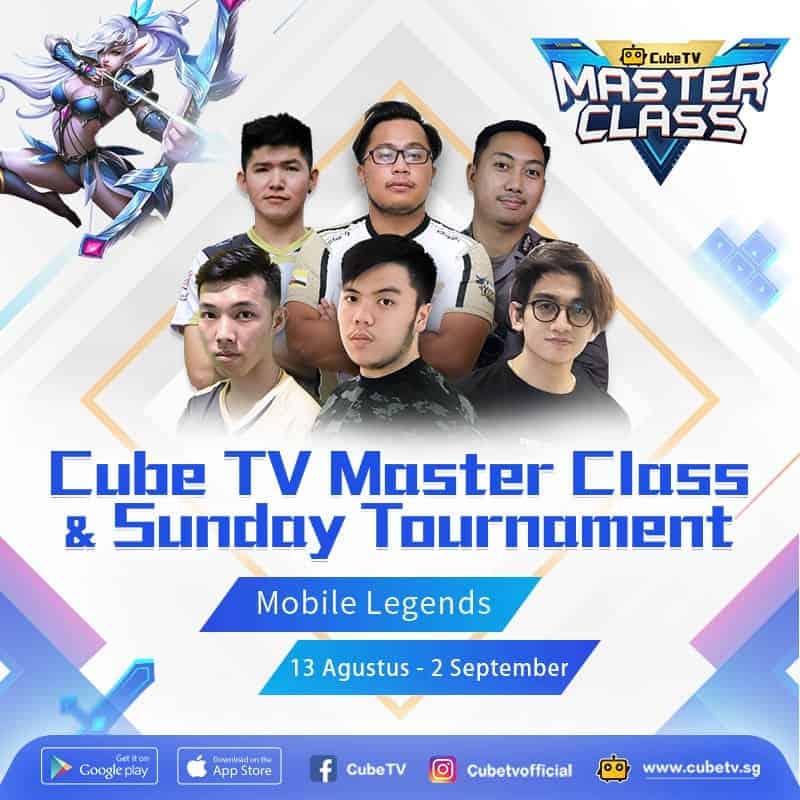 Pertama di Indonesia Masterclass Gaming dari Cube TV Berhadiah USD 40.000