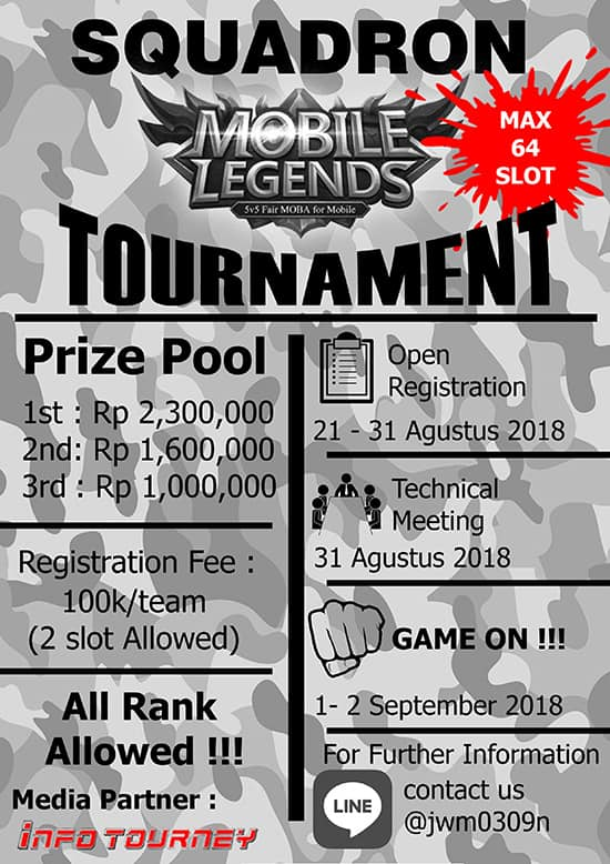 [Turnamen]Squadron Tournament Mobile Legends Season 1