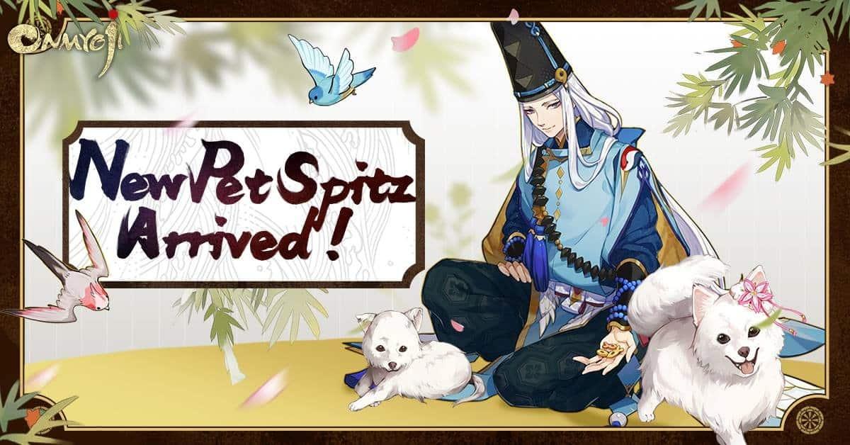 "⭐Shikigami Baru Bukkuman dan Teman Baru ""Spitz Puppy""akan Tiba dalam Game Onmyoji!⭐"