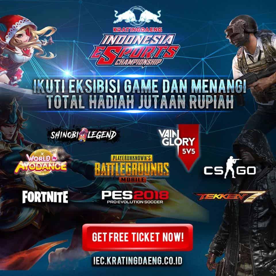 kratingdaeng IEC 2018 game